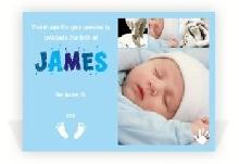 beautiful new baby card