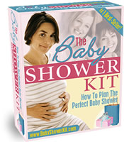 The ultimate baby shower kit