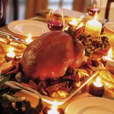 Saying thank you for Christmas dinner