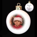 personalise a bauble with a photo