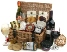 send a fabulous Christmas thank you gift basket