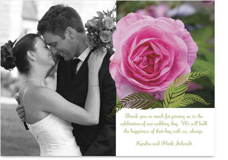superb wedding thank you cards